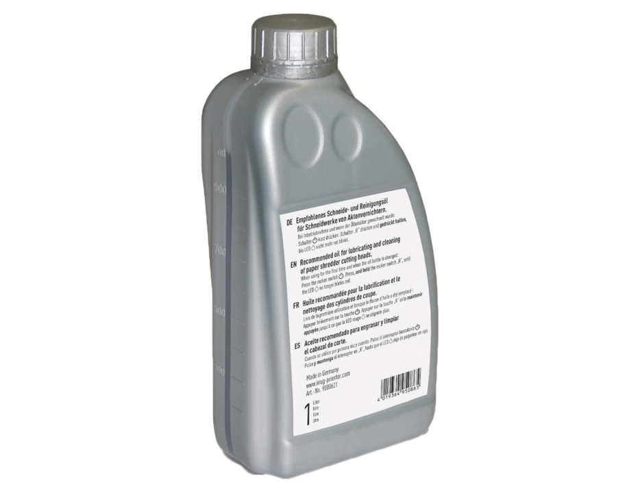 IDEAL Shredders A oil bottle 1000 ml web 1