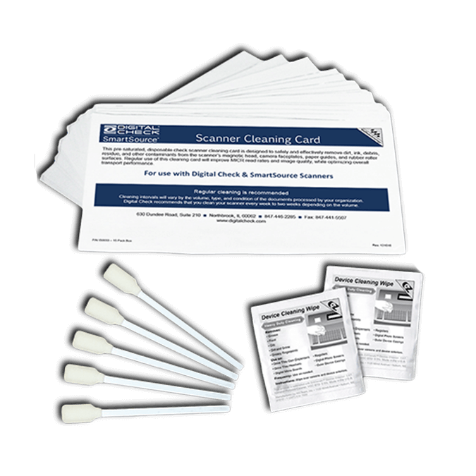 Cheque Scanner Cleaning Supplies